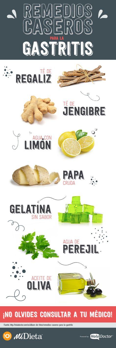 Remedios caseros para la gastritis