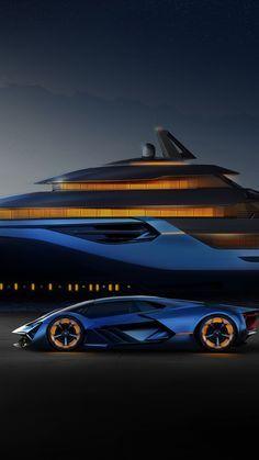Lamborghini Terzo Millennio And Explorer Concept Artwork