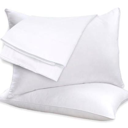 Get A Peaceful And Luxurious Night Sleep With The White Duck Feather Pillow Set By Beauty Sleep Slumber In Opulent Duck Feather Pillows Feather Pillows Pillows