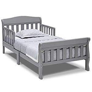 Delta Children Canton Toddler Bed Grey In 2020 Toddler Bed Delta Children Crib Bedding