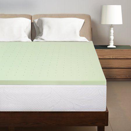 Best Price Mattress 1 5 Inch Green Tea Infused Memory Foam Bed