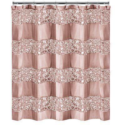 Willa Arlo Interiors Irie Striped Single Shower Curtain In 2019