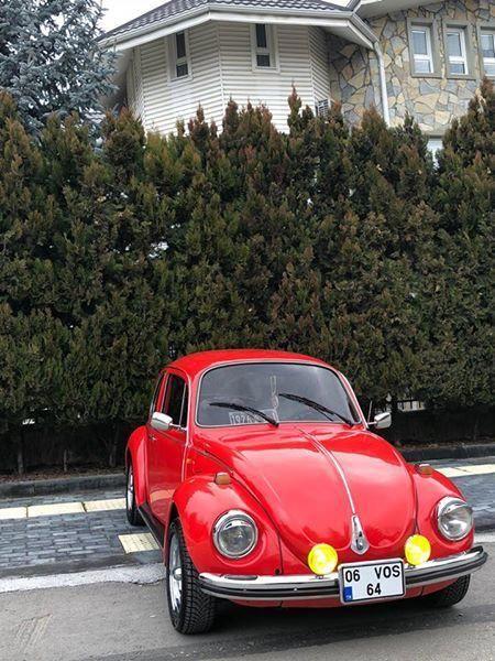 Vw Beetle Vosvos 1973 Beetle Cars Fusca Vw Vintage Kafer Red Retro Beetle Germany Art Design Love Volkswago Car Volkswagen Beetle Car Vw Beetles