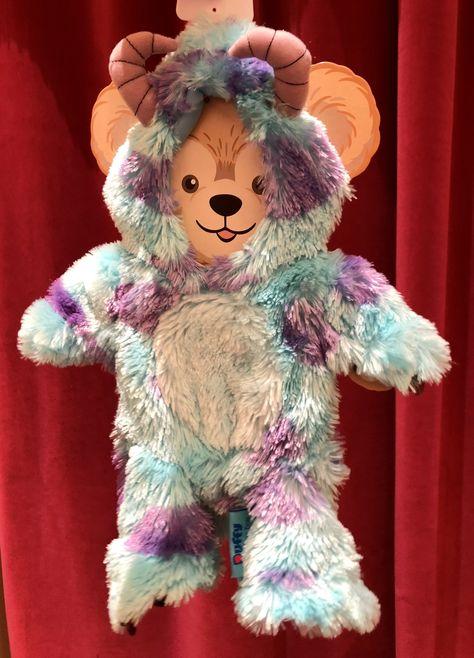 Tokyo Disney Sea Character HKDL Duffy Bear Plush Sulley Costume Set