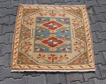 home decor turkish rug purple rug 4.7 x 9.3 ft rug bohemian rug floor rug aztec rug wool rug vintage rug No 3781 handknotted rug
