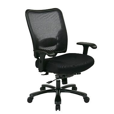 Amazing Big Mans Double Air Grid Back And Mesh Seat Chair Sams Ocoug Best Dining Table And Chair Ideas Images Ocougorg