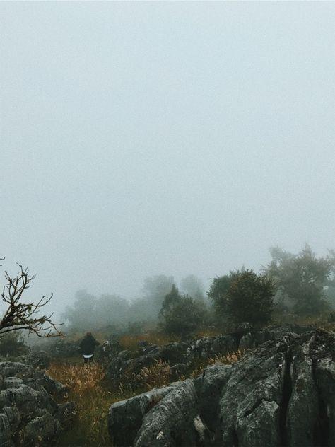 Lusian bajando por el camino. #nature #colombia #cold #vsco #vscocam   christiangulfo