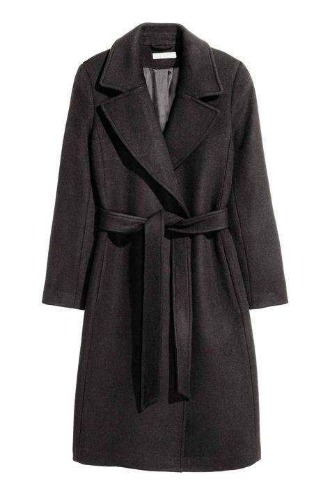 Manteau en laine mélangée | H&M 99€