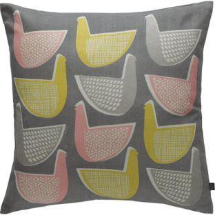 Habitat Pennie Multi Coloured Bird Cushion 45x45cm At Argos Co Uk Your Online For Cushions