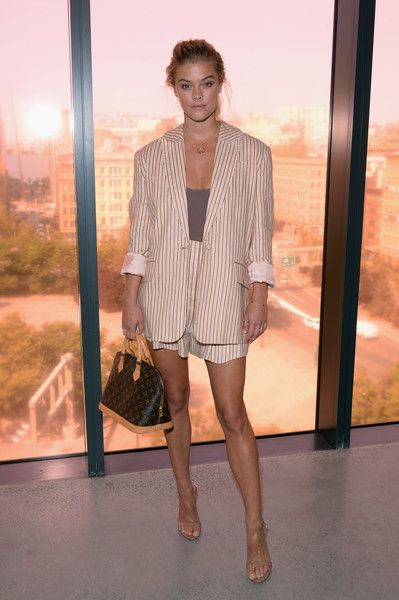 Nina Agdal at Zimmermann - Here's What Celebs Wore to Sit Front Row This Fashion Week - Photos