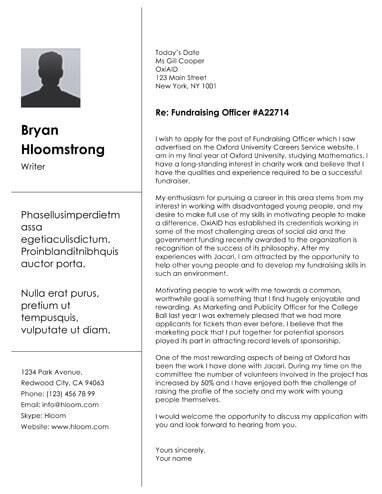 39+ Great Creative Cover Letter Templates  Selections