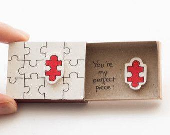Tarjeta divertida del búho amor / tarjeta de por 3XUdesign en Etsy