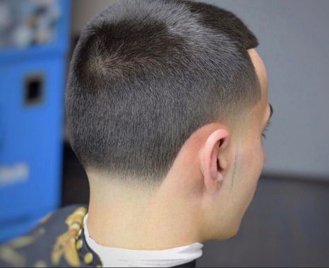 Men Sharp Line Haircuts With Taper Fade Step By Step Guide How To