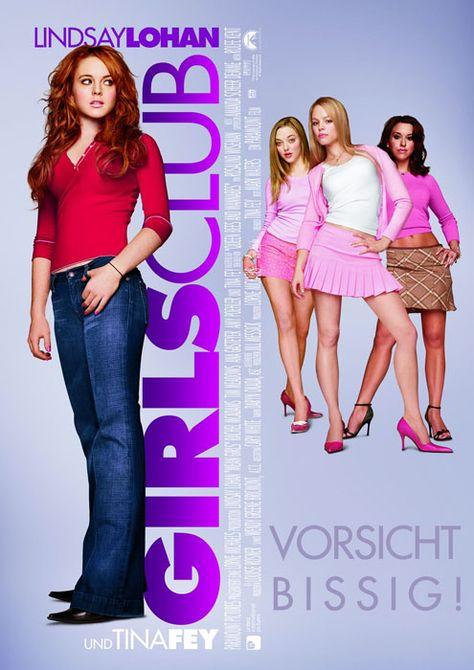 Filmplakat Girls Club Vorsicht Bissig 2004 Madchen Filme Filme Girls
