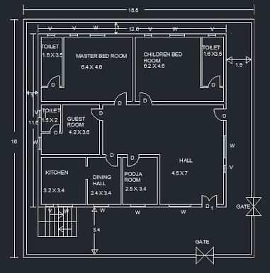 Tokeo La Picha La Elevations Of Single Storey Residential Buildings Residential Building House Plans House Design