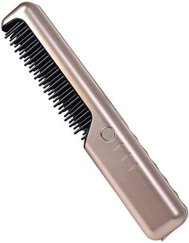 The Perfect K Salon Cordless Hair Straightener Brush And Heated Hair Comb Rechargeable 4000ma Cordless Hair Straightener Straightening Brush Hair Straightener
