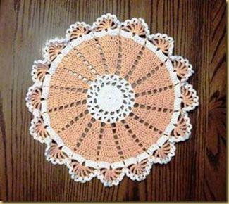 16-Spoke Doily - free crochet pattern
