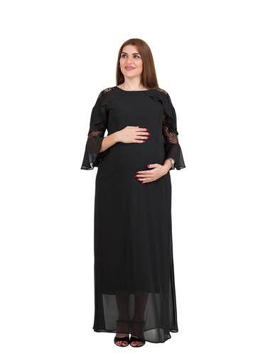 فستان حوامل M4m Fashion السعر 50 00 ريال للرمز M4807075 العلامة التجارية M4m Fashion نوع فستان طويل للحمل نسيج 10 ت Fashion Dresses How To Wear