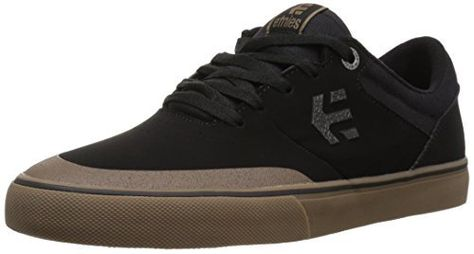 Etnies Mens Men's Marana Vulc Skate Shoe, Black/Gum/Dark Grey, 10 Medium  US: STI EVOLUTION® FOAM insole Performance & Durability Redefined…