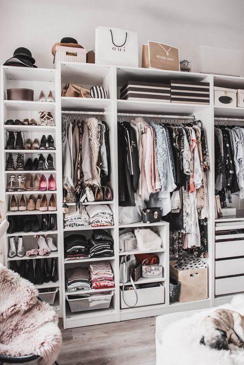 Einen begehbaren Kleiderschrank planen : so habe ich mein Ankleidezimmer eingerichtet Julies Dresscode Fashion & Lifestyle Blog | Ankleidezimmer planen | #kleiderschrank #ankleidezimmer #begehbarerkleiderschrank #fashionblog #modeblog #modetipps #einrichtungstipps #lifestyle