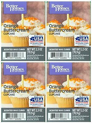 cef480442de117470368288117520d8e - Better Homes And Gardens Orange Buttercream Cupcake Wax Cubes