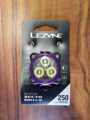 Lezyne Zecto Drive 250 Lumens Headlight Black
