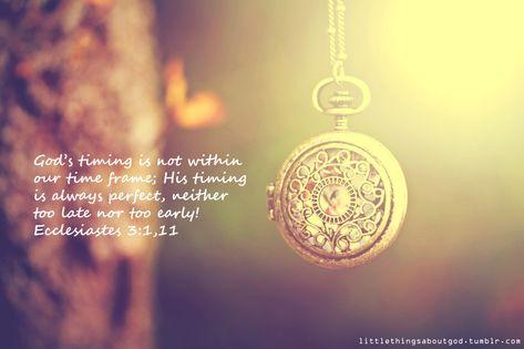 Ecclesiastes 3:1,11