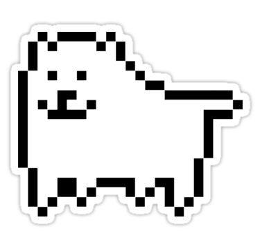 Pin By Malu On Laptop Sticker Ideas In 2021 Dog Stickers Undertale Stickers