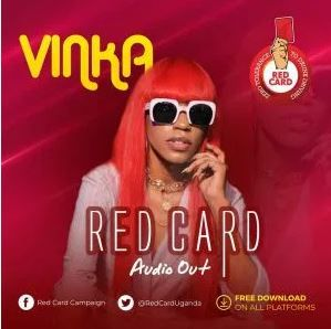 Vinka Red Card Mp3 In 2020 Red Card Song Captions Hit Songs