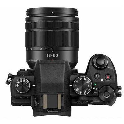 Panasonic Lumix Dmc G85 Mirrorless Camera With 12 60mm F 3 5 5 6 Lumix G Power Ois Lens Black Mirrorless Camera Panasonic Lumix Panasonic