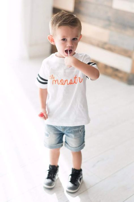 Ampersand Avenue Kids - Little Monster Tee