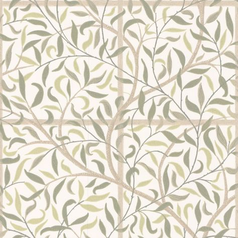 Monroe By Little Greene Gold Flower Wallpaper