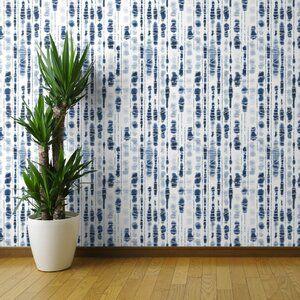 Deberry Shibori Peel And Stick Wallpaper Roll Joss Main Peel And Stick Wallpaper Brick Wallpaper Paintable Wallpaper