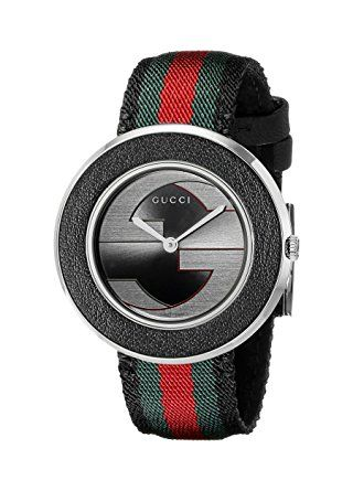 5a21ed0cf31 Plexiglas watch with green and red motif