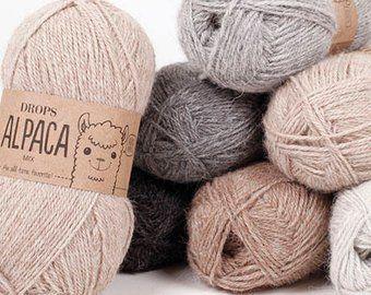 Superwash Merino Wool Yarn Yarn For Baby Natural Fiber Etsy Alpaca Yarn Wool Yarn Knitting Yarn