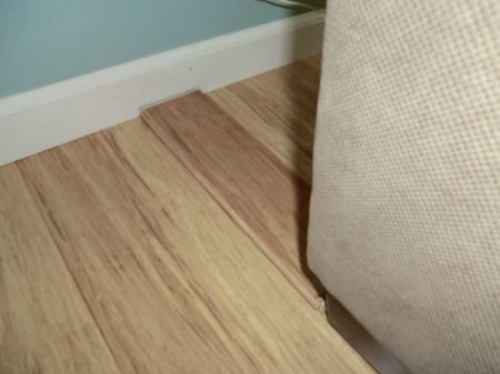 Board Behind Couch To Keep It From Sliding On Hardwood Floor