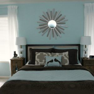 Decorate A Small Bedroom With Two Windows Master Bedroom Colors Master Bedroom Curtains Bedroom Colors