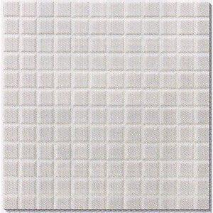 モザイクタイル シート 25角 磁器質 白 キッチン 壁 床等のdiy