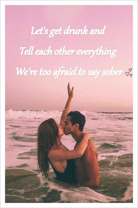 💙Let's get stupid drunk and not hold back, let's be open like we've always known each other with no regrets, let's dance until our feet are sore and our hearts are full. Follow us for more love advice, quotes, and poems!💙  #Lovequotes #Iloveyou #Friendshipquotes #Relationshipquotes  #Lovequotesforhim
