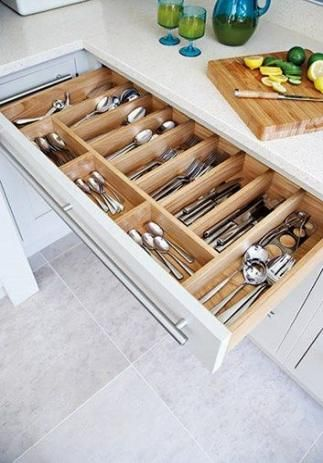46 Trendy Ideas Kitchen Utensils Storage Diy Drawer Dividers Diy