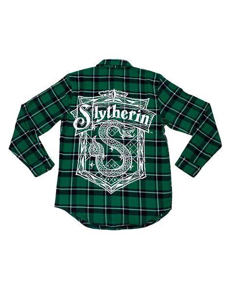 Cakeworthy Harry Potter Slytherin House Unisex Flannel - 3XL