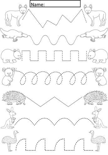 Australian Animals Tracing Lines Activity For Early Years Special Needs Cute Activity Where Stude Preschool Tracing Tracing Worksheets Preschool Tracing Sheets Free kindergarten worksheets australia
