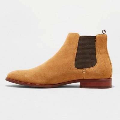0f21a7d3389 Men's Paxton Suede Chelsea Boots - Goodfellow & Co™ Tan 10.5 in 2019 ...