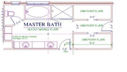 57 Ideas Bath Room Layout Plans 10x10 Bathroom Layout Bathroom Layout Plans Master Bath Layout