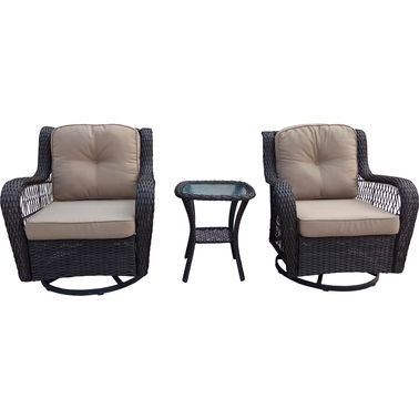 Fine Bond Broussard Swivel Bistro Set Patio Sets More Shop Caraccident5 Cool Chair Designs And Ideas Caraccident5Info