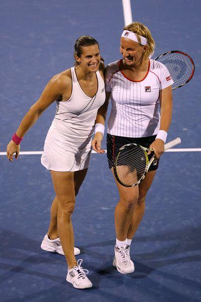 Amelie Mauresmo And Svetlana Kuznetsova Amelie Mauresmo Svetlana Kuznetsova Tennis Players
