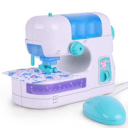 Ihuan Electric Sewing Studio Machine Sew Intelligence Activities Toy For  Girls Kids