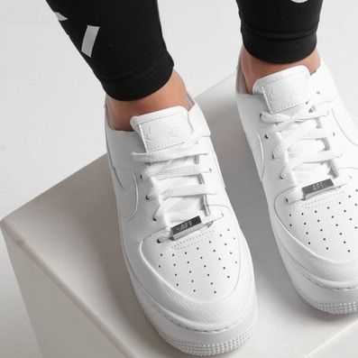 reputable site 022ff acd06 Nike Air Force 1 Sage Low White/White/White | Dubai in 2019 ...