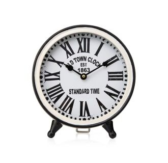 Imax Home 17057 Clock Tabletop Clocks White Clocks