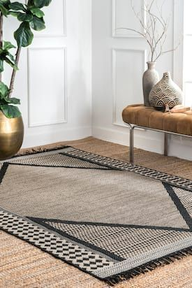 Rugs Usa Gray Rancherio Modern Minimalist Indoor Outdoor Rug Casuals Rectangle 9 X 12 6 Minimalist Rugs Rugs Usa Outdoor Rugs